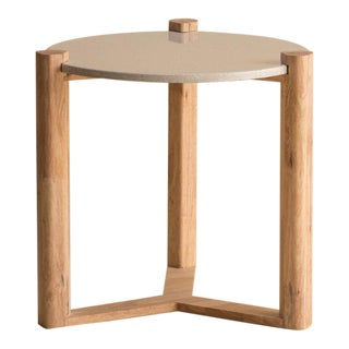 Ebb and Flow May-Round Accent Table For Sale