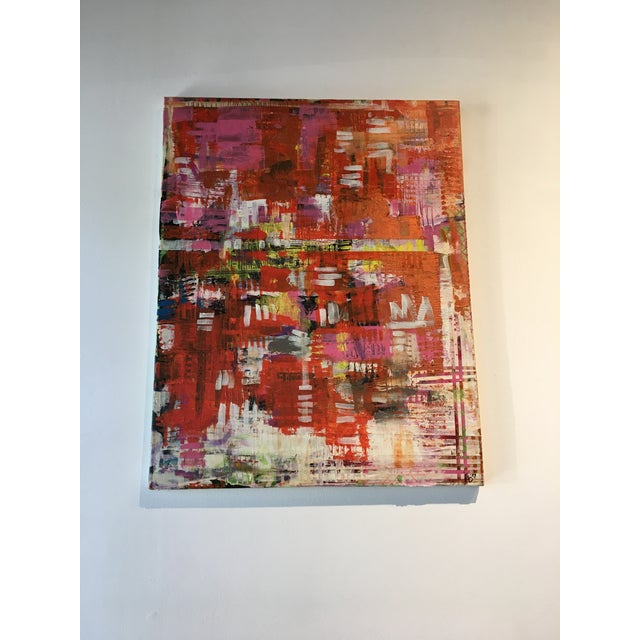 Jonathon Ernst Abstract Painting on Canvas - Image 3 of 5