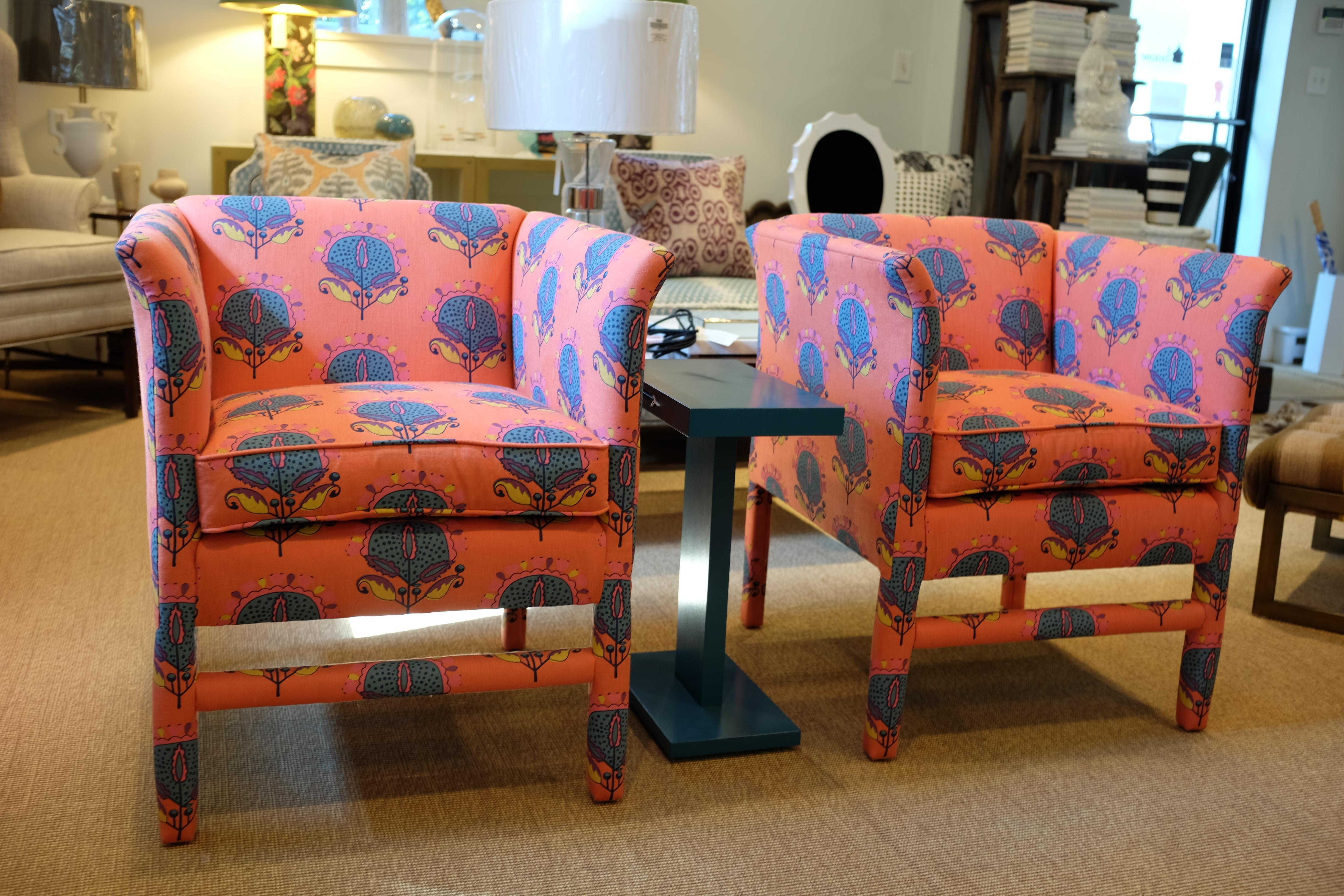 This Is A Beautiful Pair Of Highland House Chairs From Our Interior Design  Studio. The