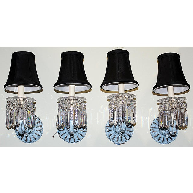 Regency-Style Painted Sconces - Set of 4 For Sale - Image 9 of 9
