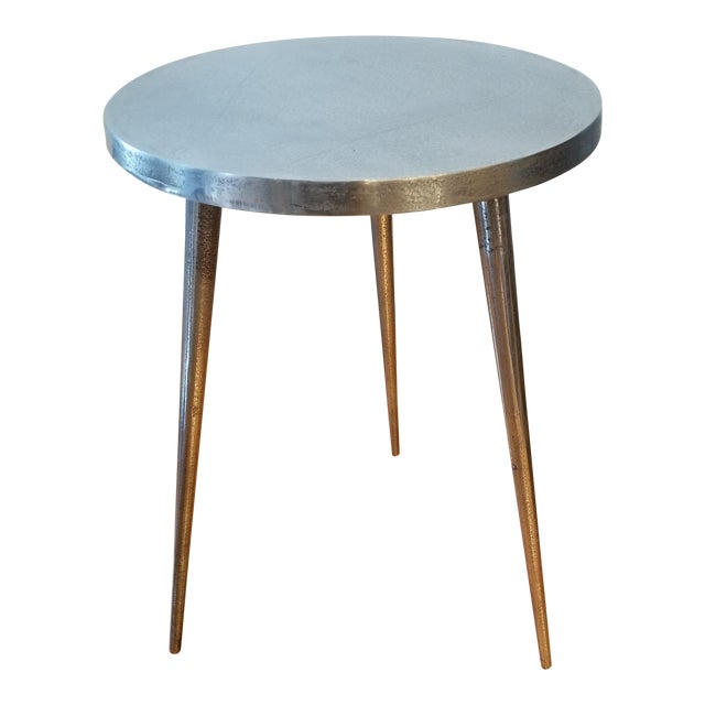 West Elm Tripod Side Table Chairish - West elm tripod side table