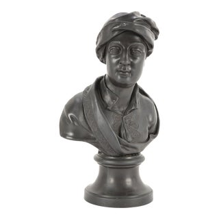 """Early 19th Century Wedgwood Bust of """"Addison"""" For Sale"""