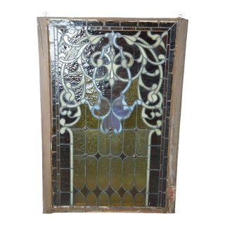 19th Century Antique Reclaimed Stained Glass Church Windows For Sale