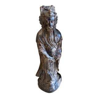 Large Austin Productions Vintage Asian Statue For Sale