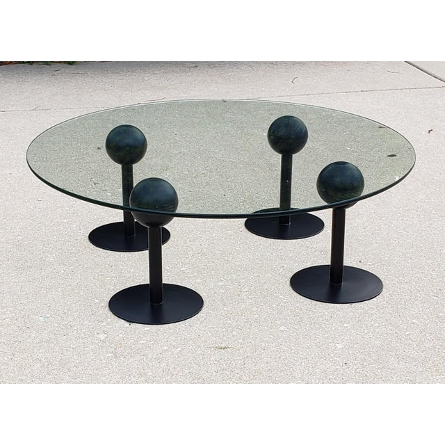 1980s Postmodern Philippe Starck Coffee Table For Sale - Image 5 of 6
