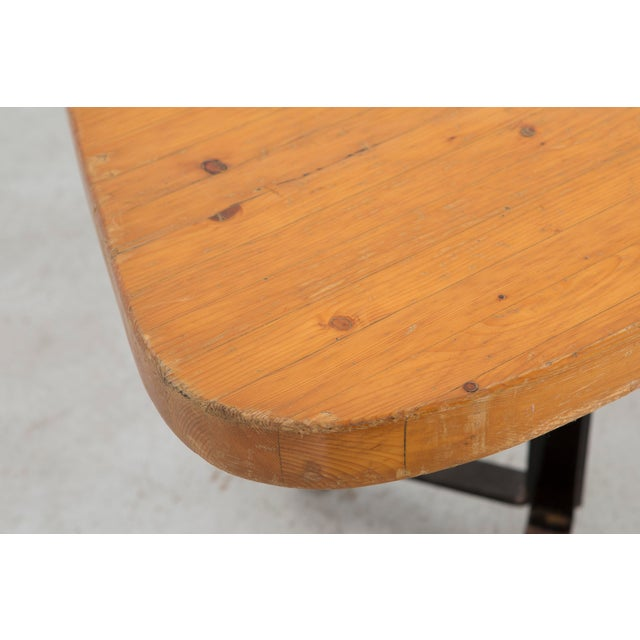 "Iron Les Arcs ""Forme Libre"" Table by Charlotte Perriand For Sale - Image 7 of 8"
