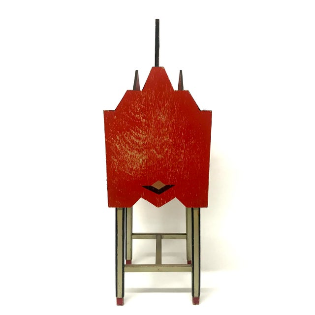 Paul Frankl Art Deco Skyscraper Magazine Stand For Sale - Image 4 of 9