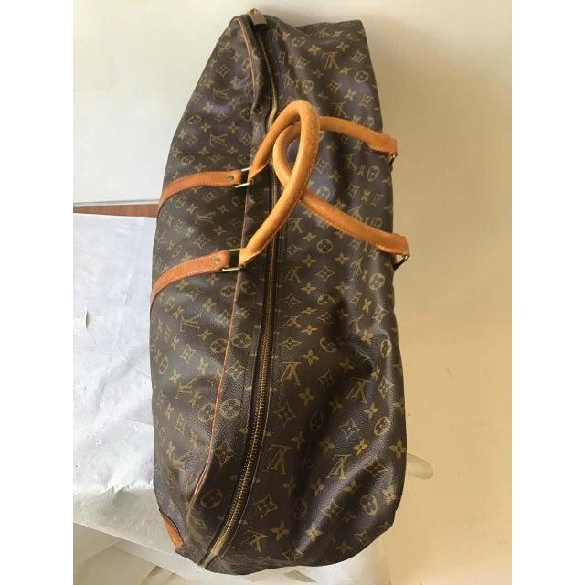 1980s Louis Vuitton Soft Suitcase For Sale - Image 10 of 13