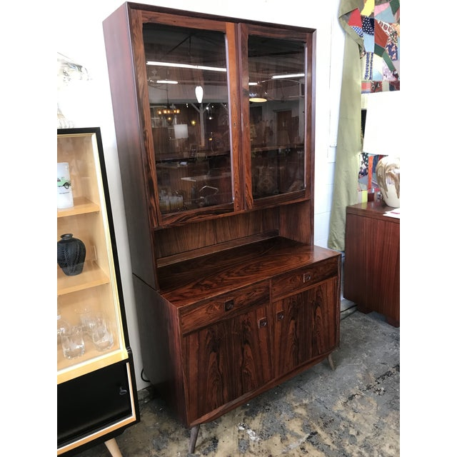 1960s Rosewood Cabinet Designed by Eric Brouer For Sale - Image 9 of 9