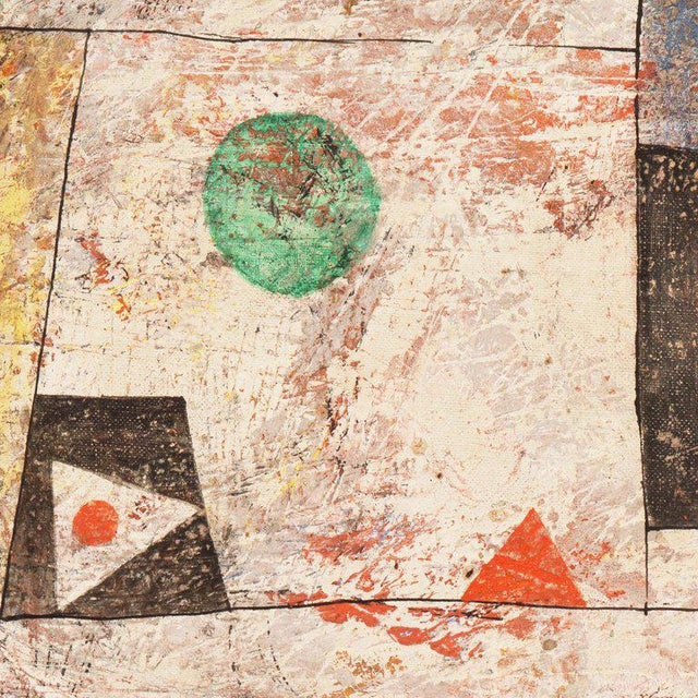 Isami Adachi Geometric Abstract 1950s For Sale - Image 6 of 11