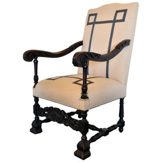 Italian-Style Chair with Tape Detail