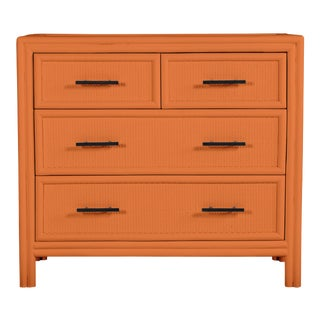 Bermuda Four-Drawer Chest - Orange For Sale