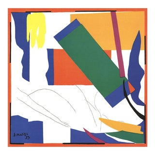 "2001 ""Memory of Oceania"" Henri Matisse Lithograph For Sale"