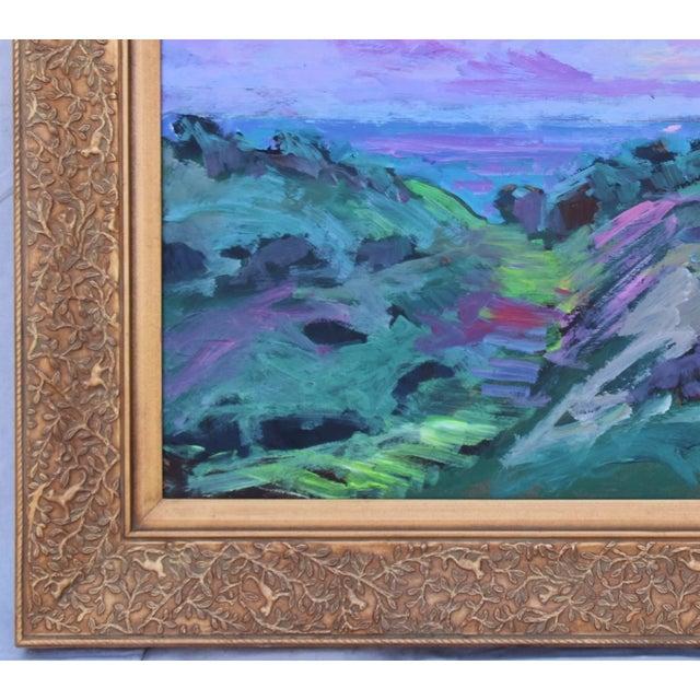 Juan Guzman, Santa Barbara Landscape Seascape Oil Painting For Sale In Los Angeles - Image 6 of 10