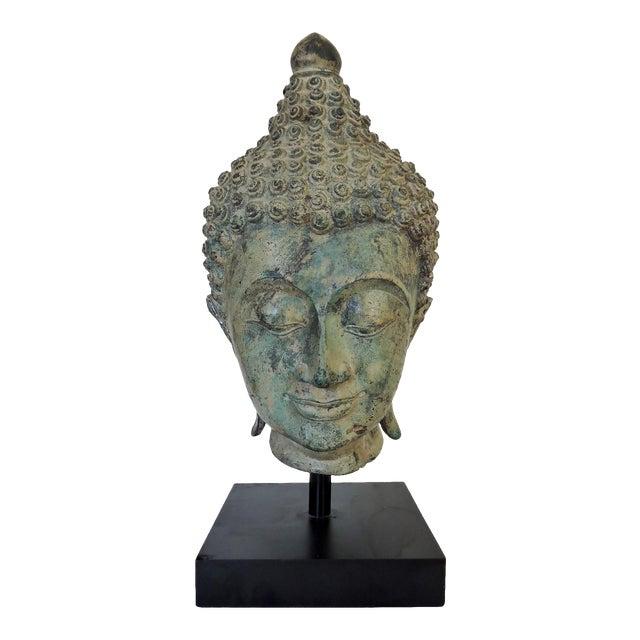 Mounted Bronze Representation of Buddha (Sukhothai), Thailand For Sale