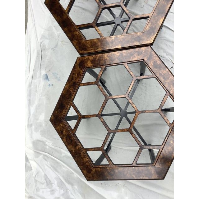 Widdicomb Honeycomb Tables, Set of 3 For Sale In Atlanta - Image 6 of 13