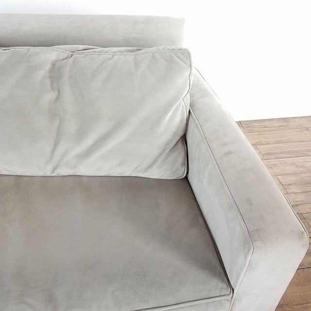 West Elm West Elm Henry Upholstered Sofa For Sale - Image 4 of 8
