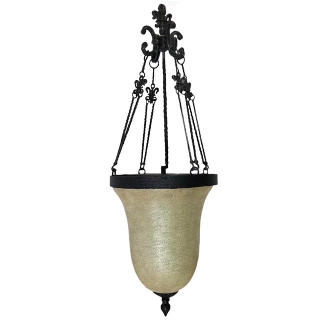 Savoy House Tuscan Iron Provence 3-Light Foyer Pendant For Sale - Image 13 of 13