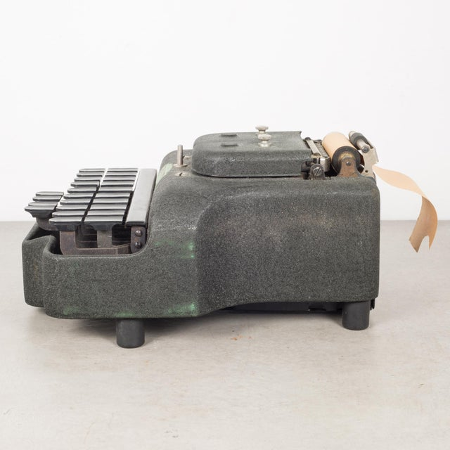 Industrial Antique Stenograph With Original Case/Manual C.1933 For Sale - Image 3 of 10