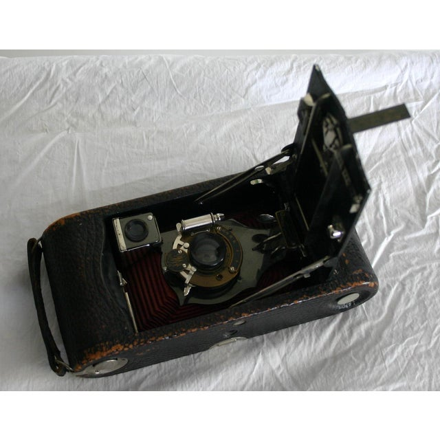 Kodak Red Bellow Folding Camera For Sale - Image 5 of 6