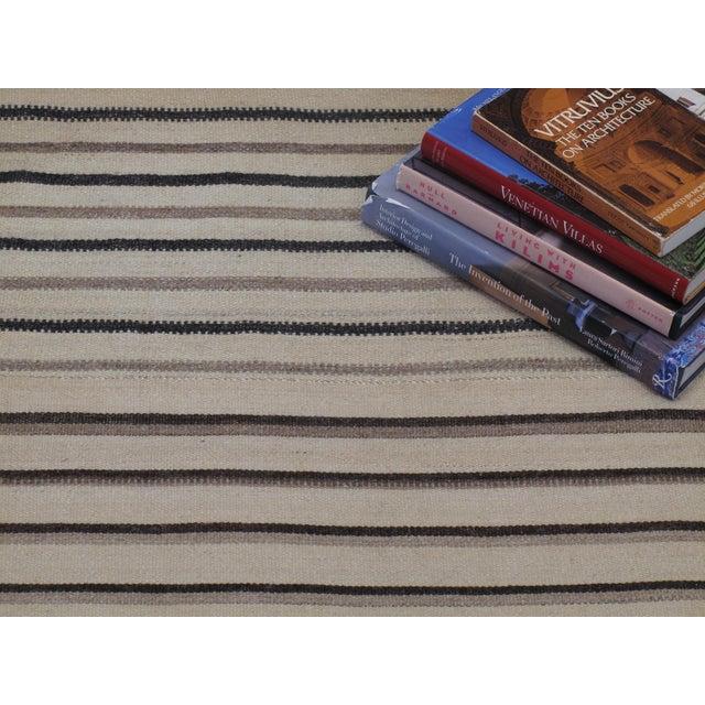 Large Striped Kilim For Sale - Image 4 of 7