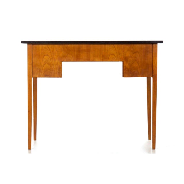 Biedermeier Style Inlaid Fruitwood Writing Table For Sale - Image 6 of 13