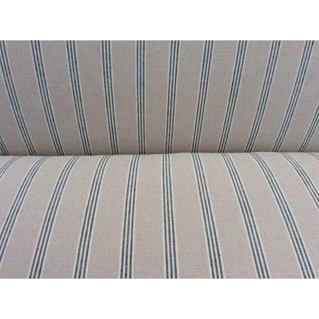Sand White English Club Sofa For Sale - Image 8 of 9