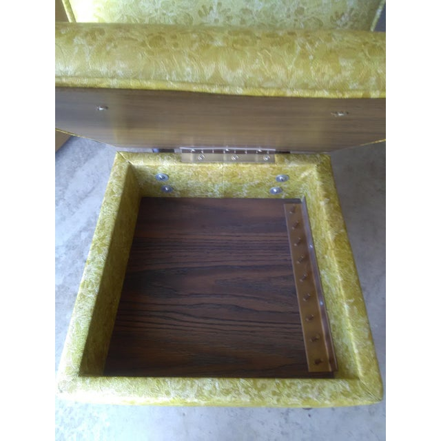 Vintage Lift Seat Sewing Chair - Image 7 of 9