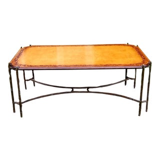 Jonathan Charles Dunes Walnut Rectangular Coffee Table