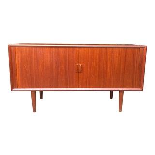 1960s Danish Danish Svend Aage Larsen Teak Sideboard For Sale