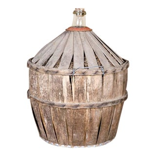 Antique French Demijohn or Bonbonne For Sale