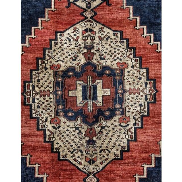 1980s Handmade Turkish Konya Rug - 5′5″ × 9′5″ For Sale - Image 4 of 5