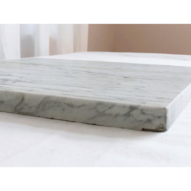 1900 - 1909 Antique Marble Remnant Cheeseboard For Sale - Image 5 of 9