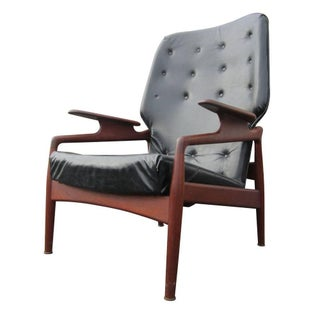 Vintage Reclining Lounge Chair by John Bone Denmark Preview