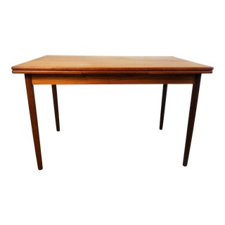 Danish Square teak table - Marie