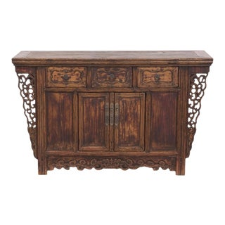19th Century Chinese Butterfly Sideboard For Sale