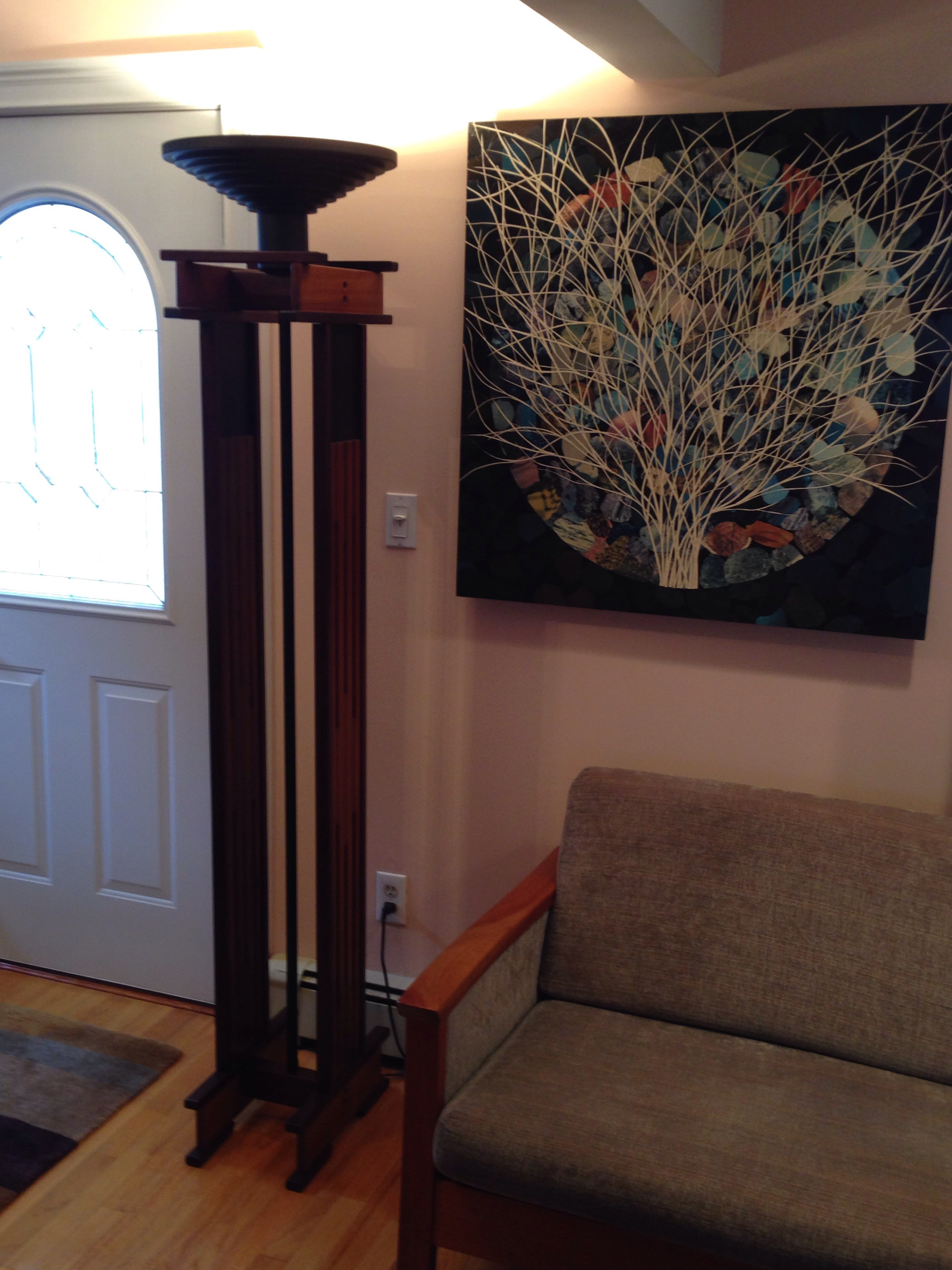 Anthony Beverly Mission Style Floor Lamp   Image 3 Of 9