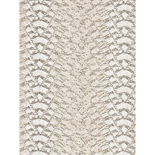 Contemporary Sample, Scalamandre Komodo, Mica Fabric For Sale - Image 3 of 3
