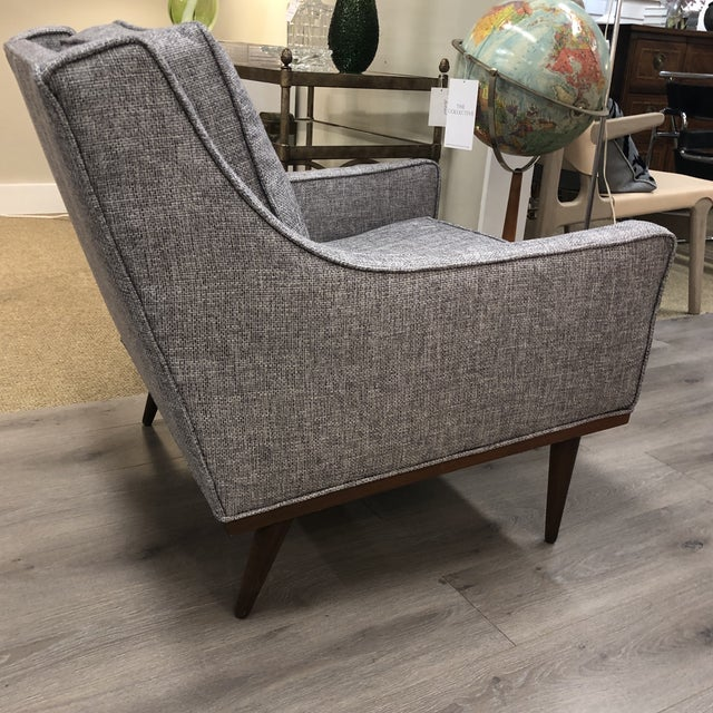 Midcentury Slope Arm Chair For Sale - Image 11 of 12