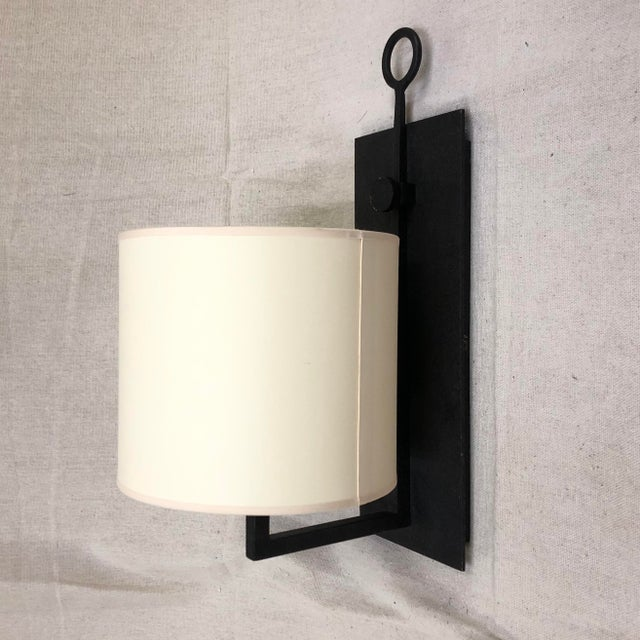 Brown Ian K. Fowler for Visual Comfort Aspen Iron Wall Lamp For Sale - Image 8 of 8