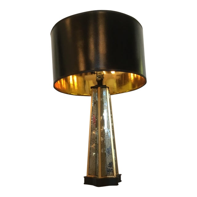 French Art Deco Style Table Lamp For Sale
