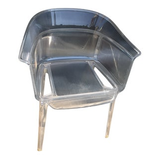 Ronan and Erwan Bouroullec for Kartell Papyrus Boroullec Transparent Chair For Sale