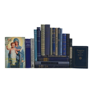 Vintage Religion Book Set: Catholicism - Set of 20 Decorative Books