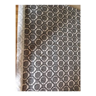 Madeline Weinrib Alberto Block Print Fabric - 6 Yards For Sale