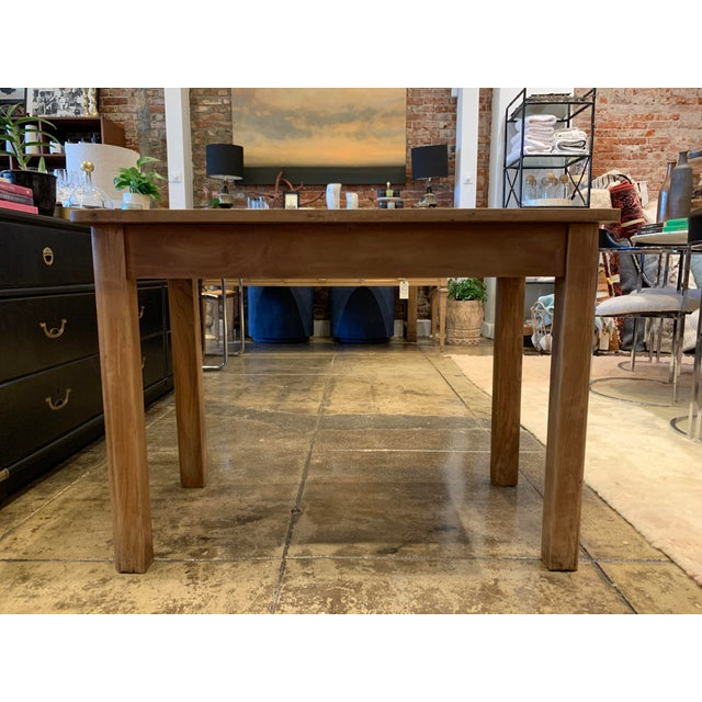 Antique French Farm Table For Sale - Image 10 of 12