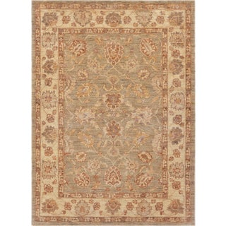Mansour Exceptional Handmade Agra Rug For Sale