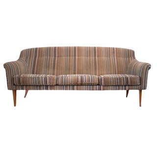 Paul Smith for Maharam Fabric Reupholstered Couch