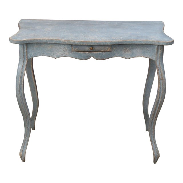 Gustavian (Swedish) 19th Century Painted Swedish Console For Sale - Image 3 of 7