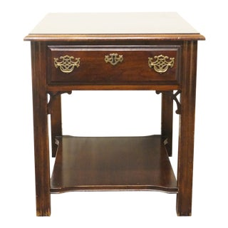 20th Century Chippendale American Drew End Table For Sale