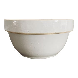 Extra Large Antique Ironstone Mixing Bowl For Sale